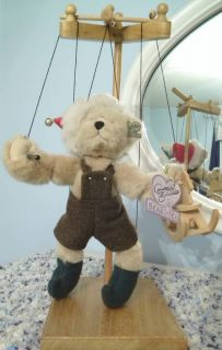 Teddy Bear Marionette Puppet by Annette Funicello Ships Free