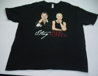 Sting Annie Lennox Sacred Love Concert Tour T Shirt Sz Mens 2XL XXL