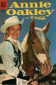 Complete Annie Oakley Comics Books on DVD TV Western Cowboy Golden Age