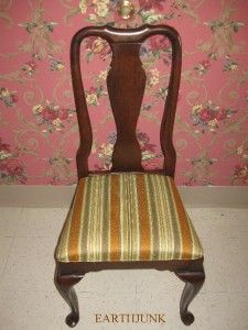 Ethan Allen Georgian Court Cherry Collection Queen Anne Side Chair 11
