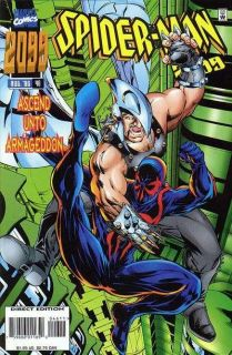 Comics Spider Man 2099 1 46 + Annual & 1 Shot Complete Run Peter David
