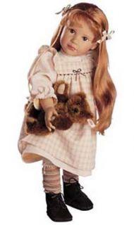 NEW Gotz Anna Maria Doll & Steiff Bear Limited Edition VERY RARE Ideal