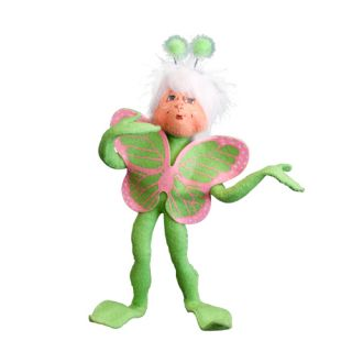 Annalee Doll Easter 2011 9 Green Spring Elf Butterfly