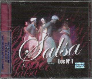 Salsa Los Nº 1 CD Greatest Hits Marc Anthony Celia Cruz