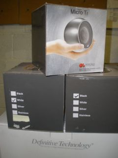 Anthony Gallo Micro TI Stainless Steel New Satellite Speaker