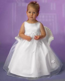Flower Girl Wedding Communion Formal Dress Sz 10 W