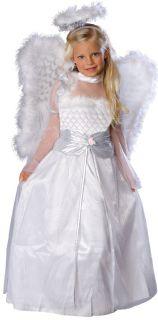 Rosebud Angel Girls Costume Size s 4 6