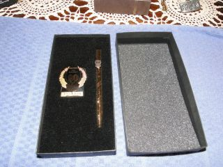 1993 90th Anniversary Harley Davidson Pen and Money Clip New