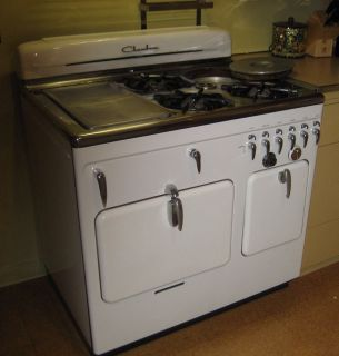 Vintage Chambers Stove & Oven Model 61C in working condition