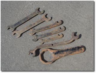 Vintage Maxwell Automobile Car Antique Tool Kit Wrench Set Circa 1904