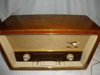 Vinage Grundig 4006 ableop ube Radio Made in Wes Germany 1950s