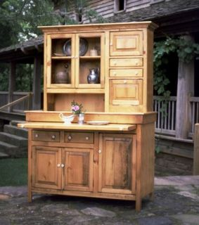 Large Hoosier Cabinet USA Made Antique Reproduction