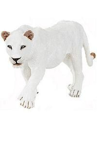 White Lioness Toy Wild Lion Animal Figure Figurine New 50075