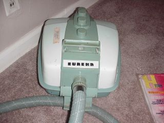 Vintage eka Model 711 Canister Vacuum Cleaner