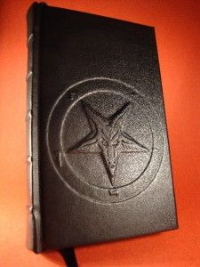 Bound The Satanic Bible by Anton lavey Church of Satan Baphomet