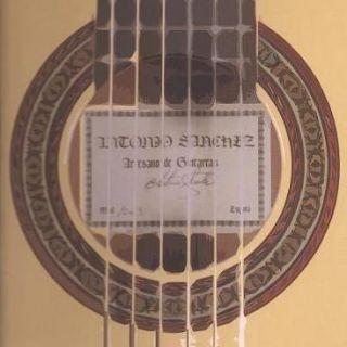 antonio sanchez classical guitar estudio model no 1008