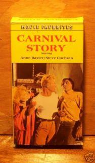 Carnival Story VHS 54 Anne Baxter Steve Cochran