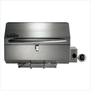 Portable Propane Gas Grill in Stainless Steel 14000 BTUS
