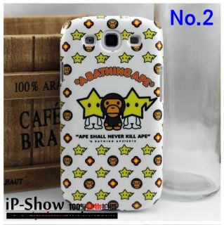 by A Bathing Ape for Samsung Galaxy S3 SIII i9300 Cover Case