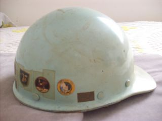 Vintage NASA Gemini Apollo Hard Hat Helmet 1966