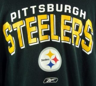 Pittsburgh Steelers Black Long Sleeve Shirt XXL Reebok