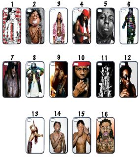 Lil Wayne Black Apple iPhone 4 Case Assorted 16 Cool Design Grab It