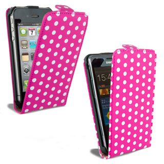 New Leather Flip Case Cover Fits Various Mobile Phones Free Screen