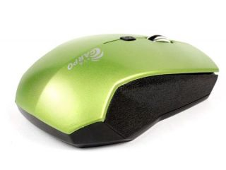 4GHz 800 1200 1600dpi Wireless Mouse for Laptop Mac PC Green