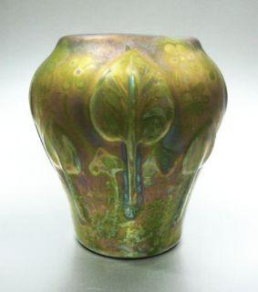 Antique Signed Weller Sicard Art Pottery Vase