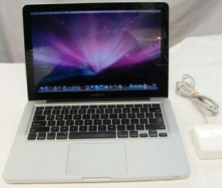 Apple A1278 MacBook Pro Laptop Core 2 Duo 2 53 Ghz w 250 GB HD 4 GB