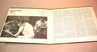 LP STAN GETZ JOAO GILBERTO ANTONIO CARLOS JOBIM VERVE RECORDS V6 8545