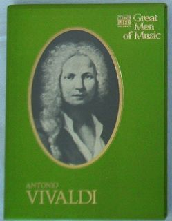 ANTONIO VIVALDI * TIME LIFE ~ GREAT MEN OF MUSIC ~ 4 cassette tapes