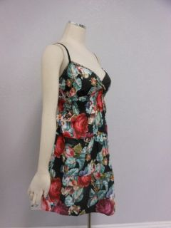 Angie  Black Red Rose Floral Sweetheart Feminine Lovely Sun