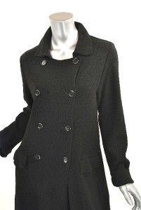 ANNETTE GORTZ Germany Black Wool Knit Dress/Coat/Duster Versatile