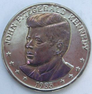 1985 25th Anniversary John Kennedy Double Eagle Coin