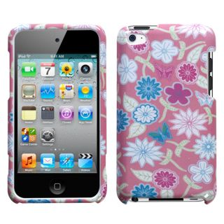 Apple iPod Touch 4th Gen Faceplate Hard SnapOn Case Cover Flower