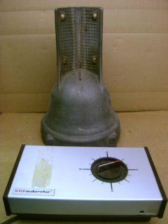 Vintage AR 40 Antenna Rotor Rotator CDE Control Box Ham CB Radio AR40