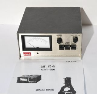 CDE Model CD 44 Antenna Rotor Control Box 8 Wire Systems
