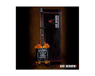 Axe Heaven Van Halen Michael Anthony Jack Daniels Miniature Mini Bass