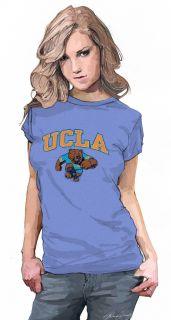 UCLA T Shirt Womens Juniors Bruins Tee University of California Los