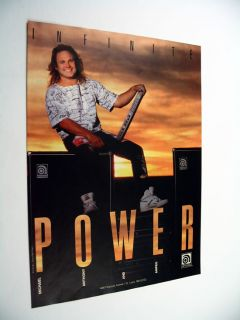 Ampeg Bass Amps Guitar Michael Anthony Van Halen Ad