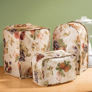 Antique Fruit Vinyl Appliance Covers Protect Appliances from Dust and