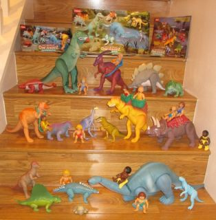 1987 Playskool Definitely Dinosaurs Very RARE Vintage Poseable Toys