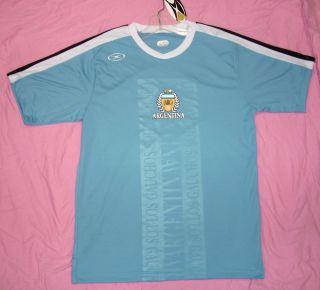 Argentina ARG soccer XARA jersey style shirt Futbol football calcio