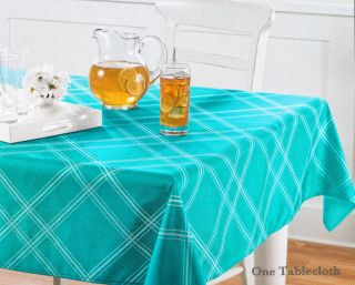 Aqua Lines Geometric Patterned Polyester Indoor Outdoor Fabric