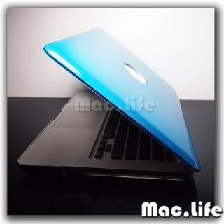 Aqua Blue Metallic Hard Case Cover for MacBook Pro 13