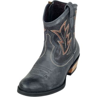 Womens Ariat Billie Western Boots Black Brunido PEBBLED Black New in