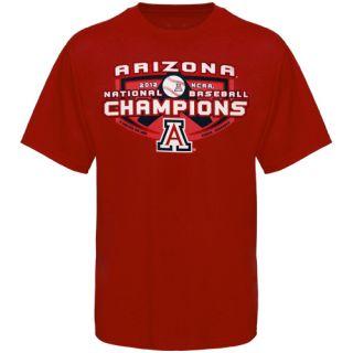 Arizona Wildcats College World Series Champions T Shirt   Red
