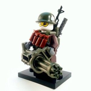 Custom Lego Minifig Military Army Soldier Minifigure
