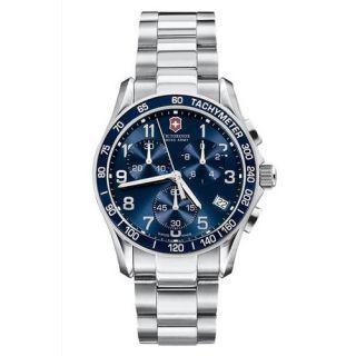 NEW* Victorinox Swiss Army Mens Chrono Classic Stainless Steel Watch